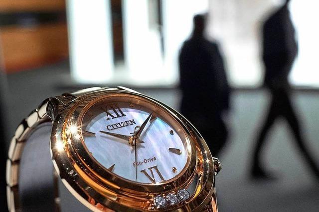 In der Schweizer Uhrenindustrie kriselt es