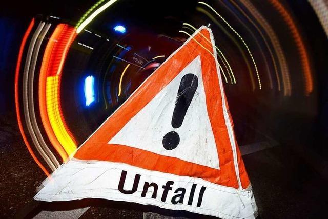 Laster rammt Laster auf der A5 bei Herbolzheim – zwei Leichtverletzte