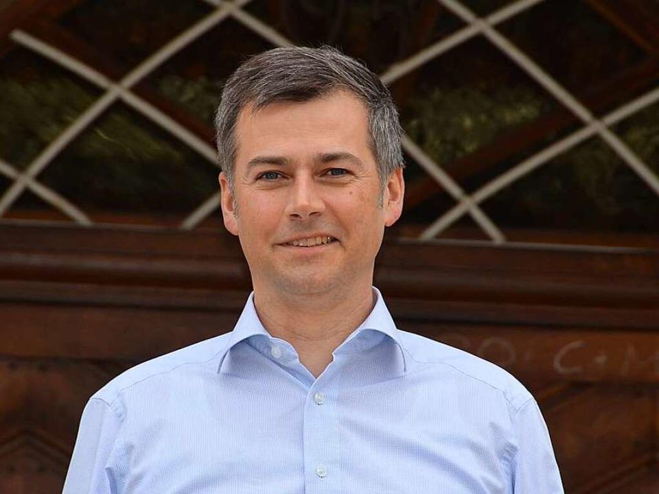 Der Bürgermeister: Christian Mauch  | Foto: Stefan Hupka