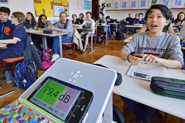 Handys an, jetzt ist Unterricht: Das Friedrich-Gymnasium probt die digitale Revolution