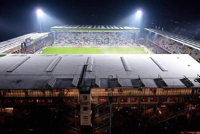 Freiburger Stadion bei der Auslastung auf Platz zwei
