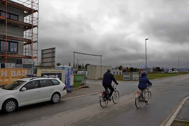 Stadtbau in Wartestellung