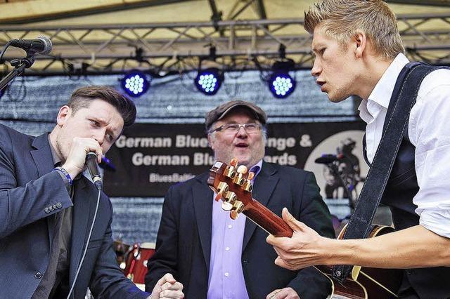 Chris Kramer und Beatbox 'n' Blues in der Wodanhalle Freiburg