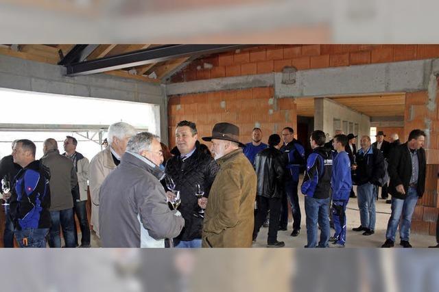 Sportheim im Hölzele soll im Oktober fertig sein