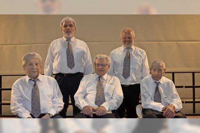 Zwei Frieder sind seit 70 Jahren Sänger