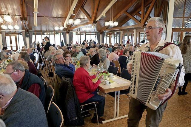 Percussions begeistern Senioren