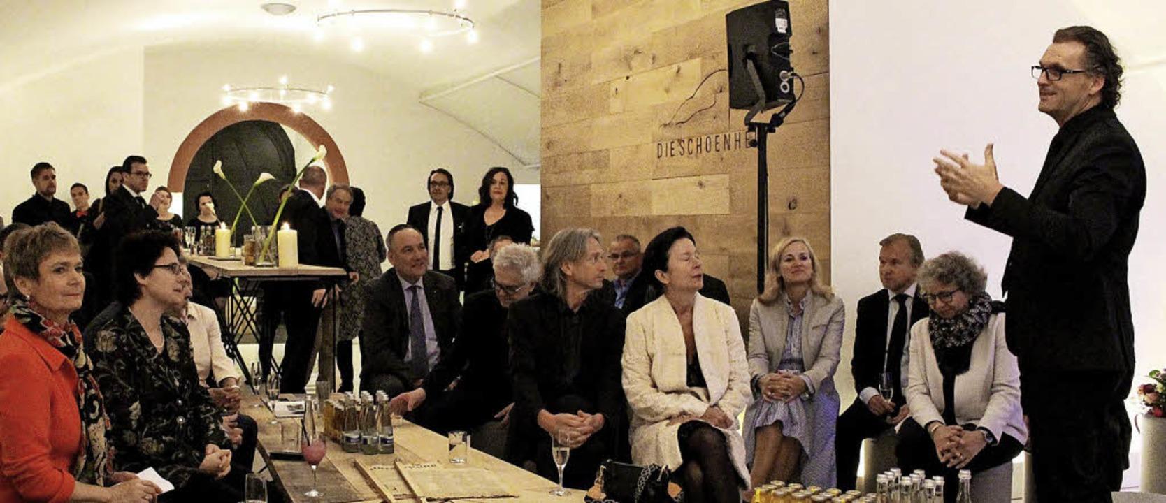 <BZ-FotoAnlauf>Firma Hiller:</BZ-FotoA...e alle Gäste im Schmieheimer Schloss.   | Foto: Privat