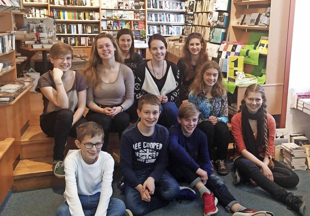 Der Leseclub der Waldkircher Buchhandl...Rahmen der Leipziger Buchmesse dabei.     Foto: ZVG