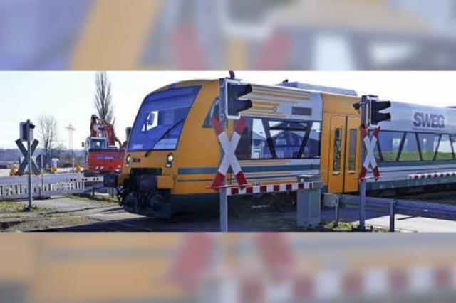 Elf Monate lang gilt Bus statt Bahn