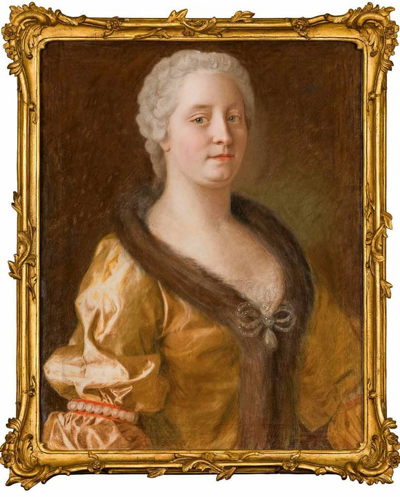 Maria Theresia, gemalt  1743 von Jean-...großen Ausstellung in Wien zu sehen.    | Foto: Schloss Schönbrunn