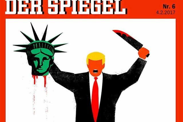 Spiegel-Cover von der Meinungsfreiheit gedeckt
