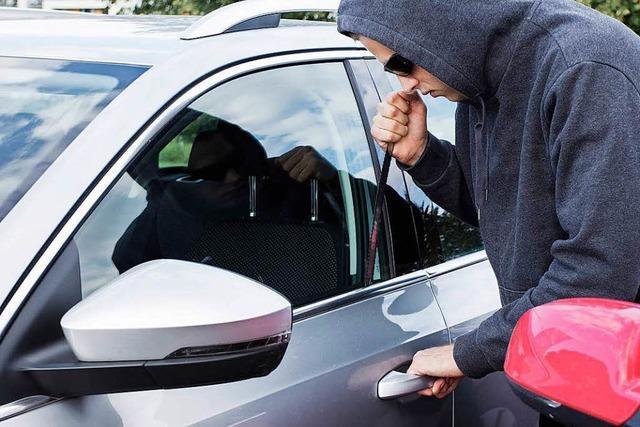 100 Autos sind in drei Monaten in Offenburg aufgebrochen worden
