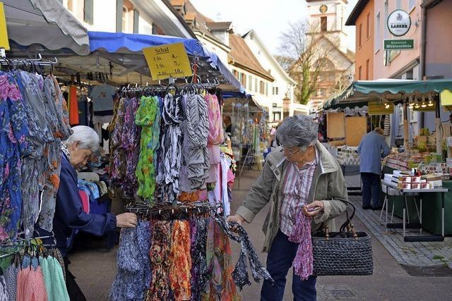 Frühjahrsmarkt im Wandel