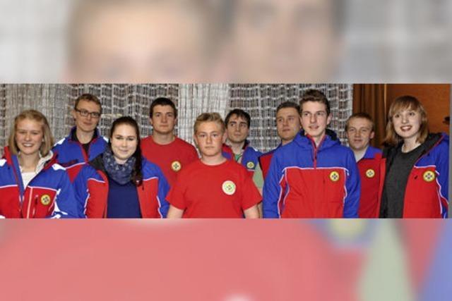 Bergwacht-Jugend kommt nach Istein