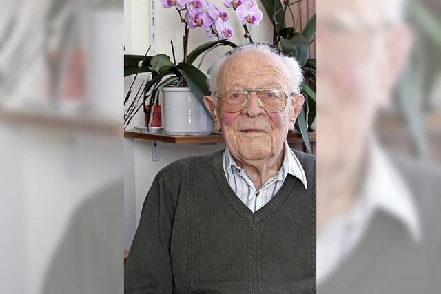 95 Jahre alt und seit 85 Jahren im Schwarzwaldverein