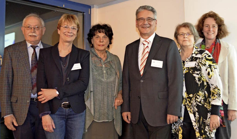 Anton Reize, Susanne Wetzel, Gerlinde ...n-Weber, Tilly Nothhelfer (von links)   | Foto: B. Wieschenkämper