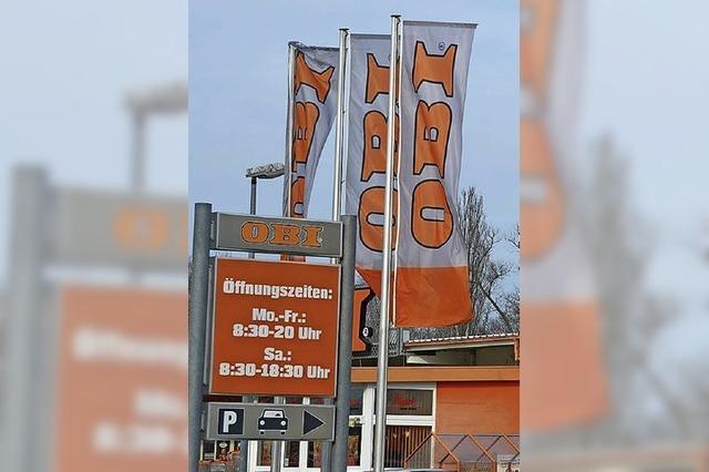 Die Stadt macht jetzt für Obi Nägel mit Köpfen