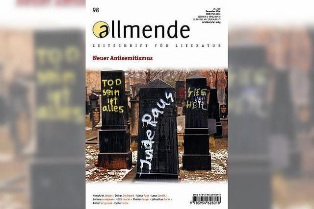 ZEITSCHRIFT: Der neue Antisemitismus