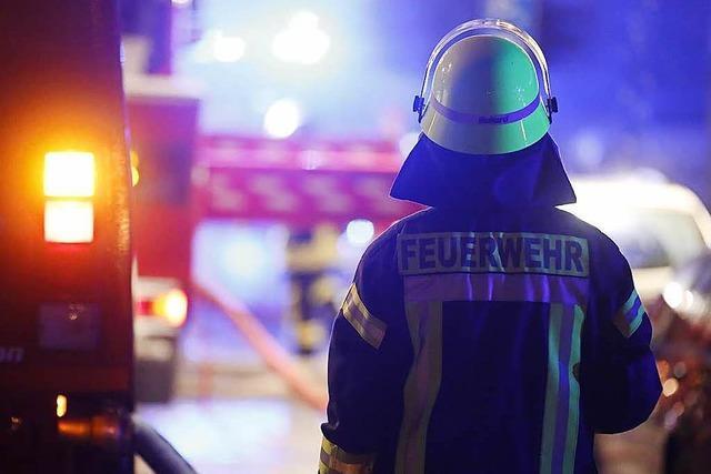 Brand im Lörracher Döner Haus – keine Verletzten