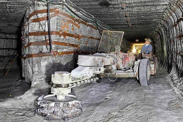 Giftmülllager Stocamine: Sondermüll bleibt weiter im Stollen