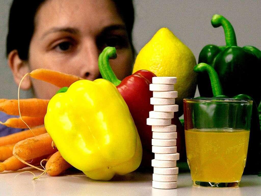 was ist besser frisches obst und gem se oder vitaminpillen gesundheit ern hrung. Black Bedroom Furniture Sets. Home Design Ideas
