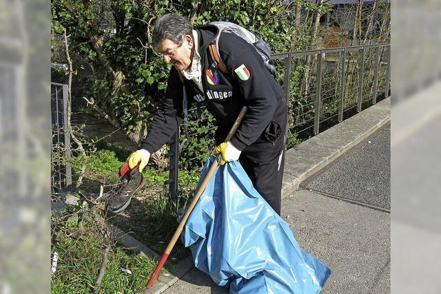 200 Helfer sammeln 18 Kubikmeter Müll