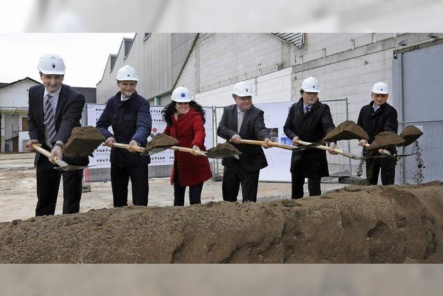 Trumpf investiert rund sieben Millionen in den Neubau von Montage- und Lagerhallen