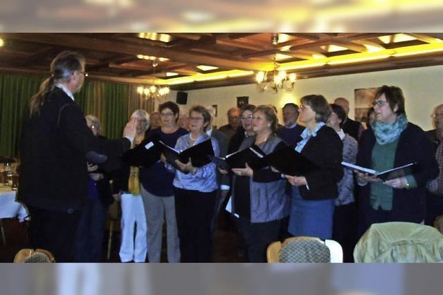 Katholischer Kirchenchor sehr aktiv