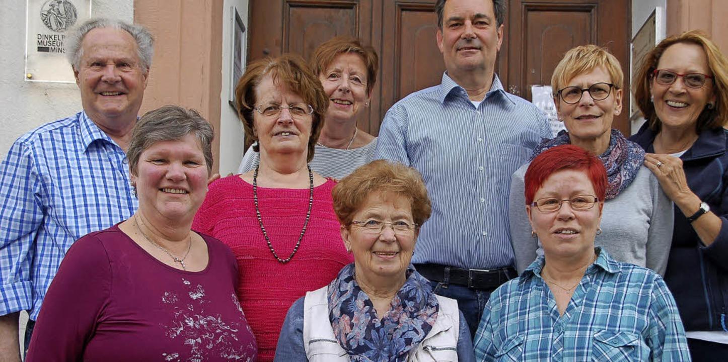 Das  Vorstandsteam mit Eugen Meyer (hi...ks), Gerlinde Hinz und Ingrid Krafft.   | Foto: Petra Wunderle