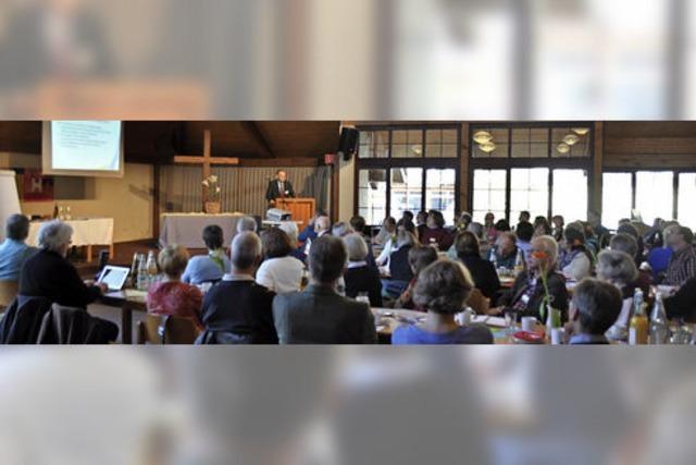Bezirkssynode diskutierte in Staufen Gebäudefragen