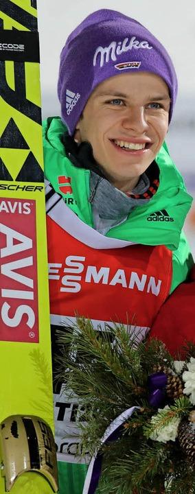 Überzeugende Skisprung-Saison: Andreas Wellinger  | Foto: dpa