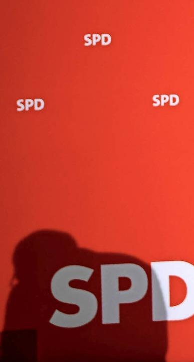 Schattenmann statt Strahlemann: SPD-Chef Schulz  | Foto: AFP