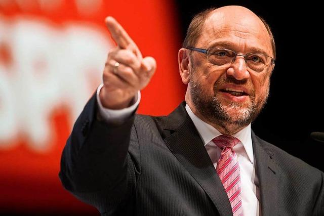SPD: Martin Schulz verspricht kostenlose Kitas