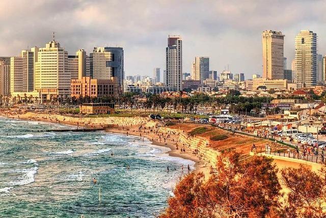 Tel Aviv ist bunt, lebenslustig – und voller Gegensätze