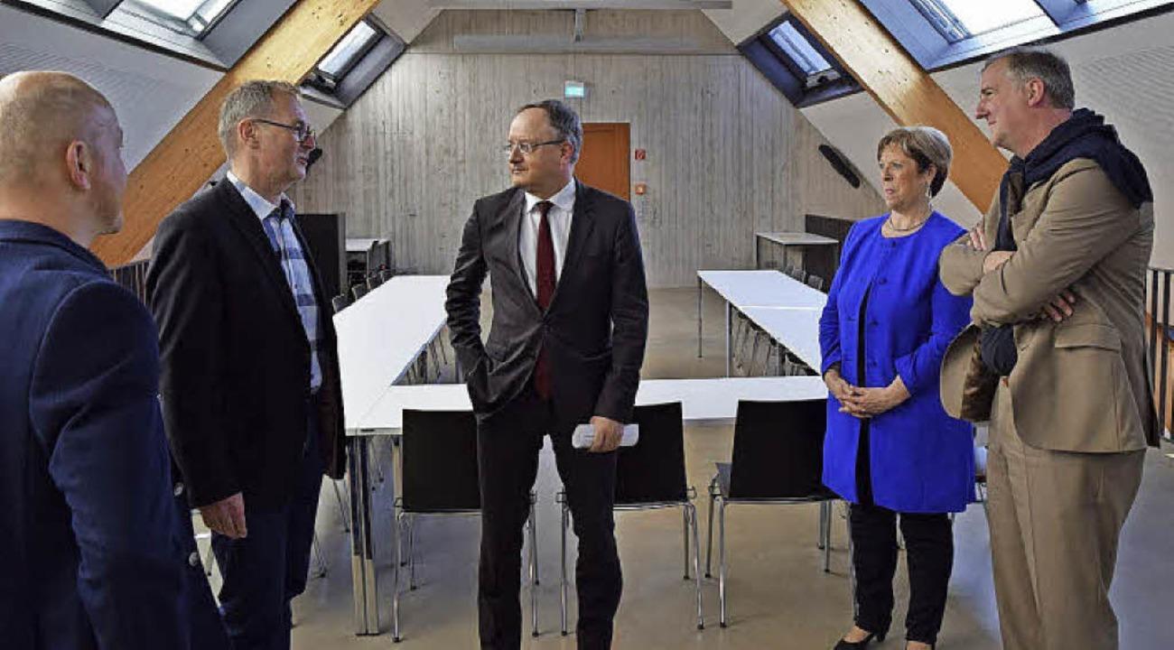 Andreas Stoch diskutierte auf Einladun...twortung für zukünftige Generationen.   | Foto: ZVG