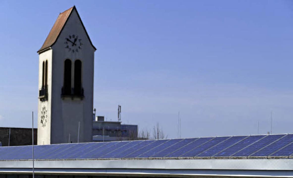 Luft nach oben sieht Jan Münster von d... mehr Solardächer bleiben  ein Thema.   | Foto: Ingrid Böhm-Jacob