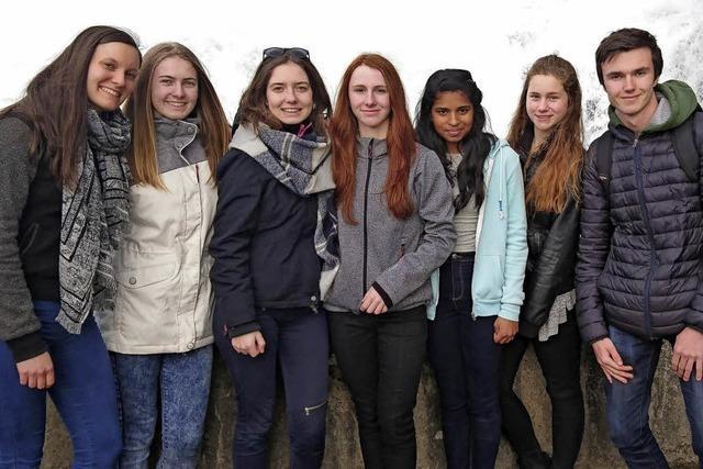 Schüler leben europäische Werte