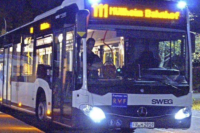 Die Linie 111 fährt auch im April bis Badenweiler