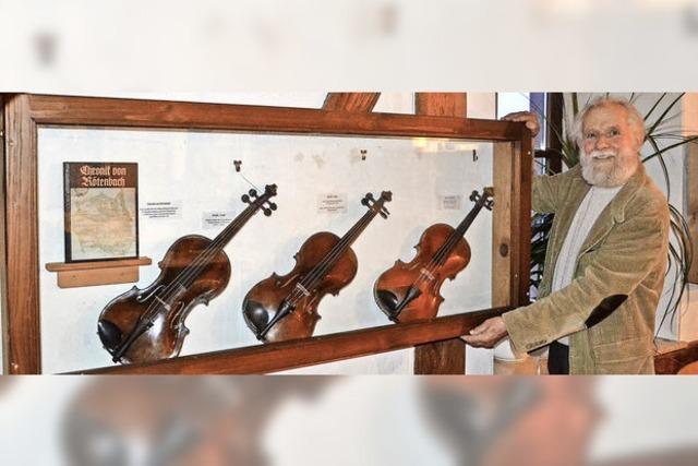 Die Geige als Teil des musikalischen Glücks