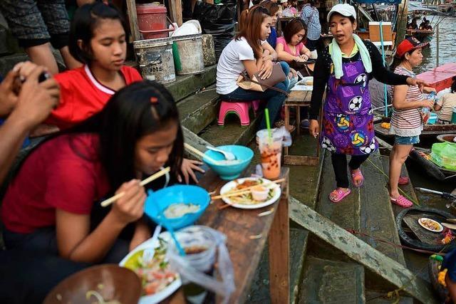 Bangkok verbannt seine Garküchen aus der Stadt