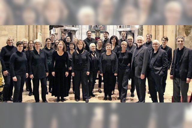 Passionskonzert mit dem Vocalconsort Bad Säckingen im Fridolinsmünster