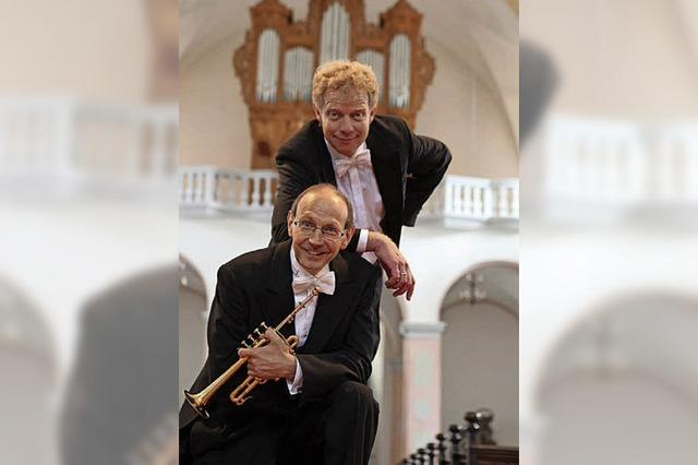 Trompeten- und Orgelklänge