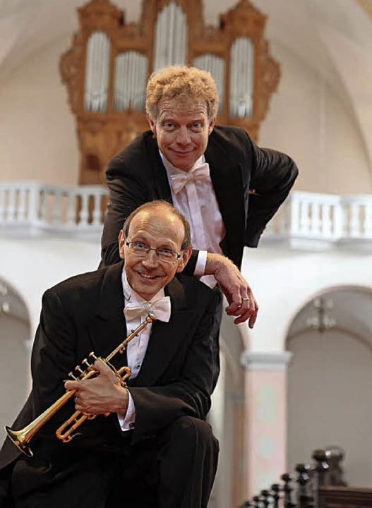 Paul Theis (hinten) und Bernhard Kratzer    | Foto: PR