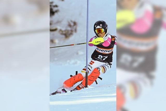 Alpine Rennläufer hadern beim Winterfinale mit Schneemangel