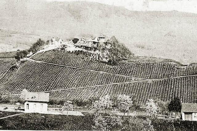 Burg mit wechselvoller Geschichte