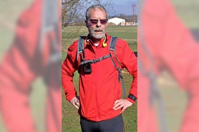 Diesen Läufer kann man am Sonntag live beim Halbmarathon begleiten