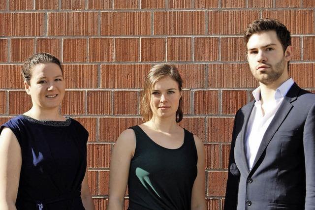 Podium Junger Künstler bei den Kammerkonzerten Efringen-Kirchen