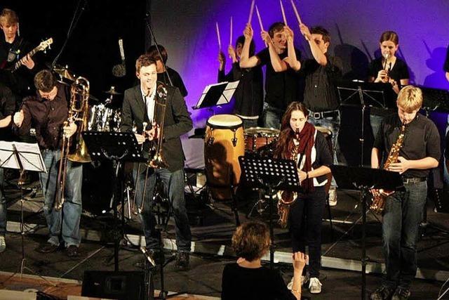 Big-Band-Sound in Kirchzarten