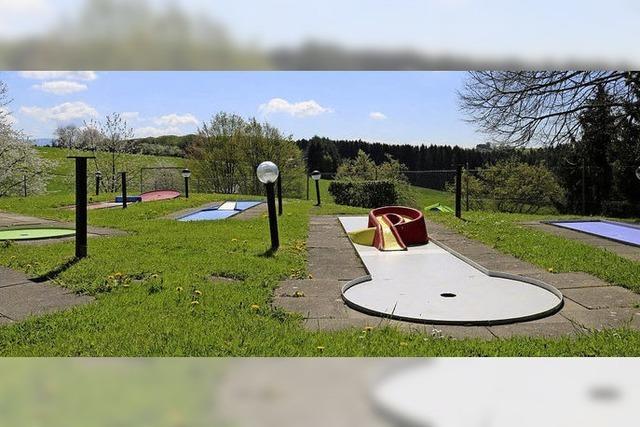 Minigolf in Freiamt