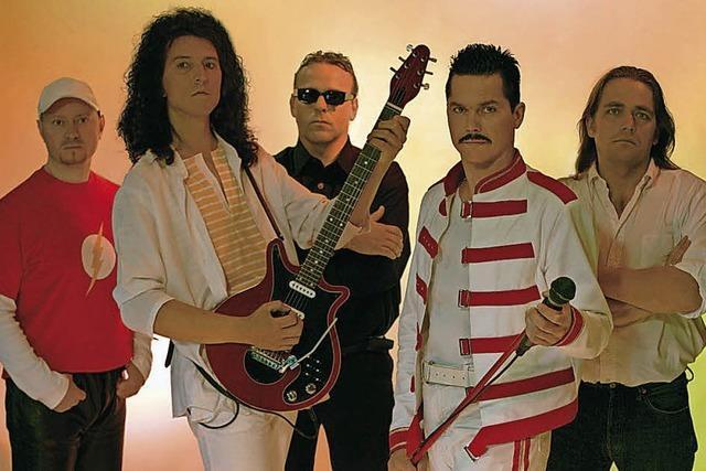 Queen Revival Band in Müllheim